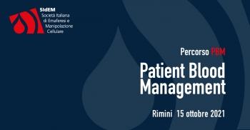 Percorso PBM - Patient Blood Management